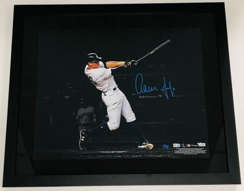 "AARON JUDGE Signed New York Yankees 16"" x 20"" Spotlight Framed Photograph FANATICS LE 99"