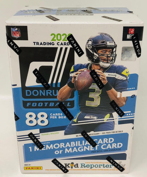 2020 NFL Panini Donruss Football Cards Blaster Box Rookie NEW SEALED
