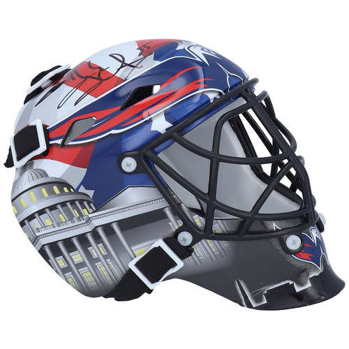 HENRIK LUNDQVIST Autographed Washington Capitals Mini Goalie Mask FANATICS