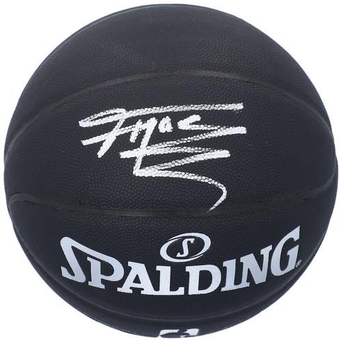 TRACY McGRADY Autographed Orlando Magic Black Spalding Basketball FANATICS