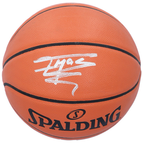 TRACY McGRADY Autographed Orlando Magic Spalding Basketball FANATICS