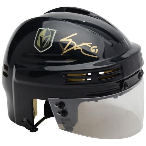 MARK STONE Autographed Las Vegas Golden Knights Mini Helmet FANATICS
