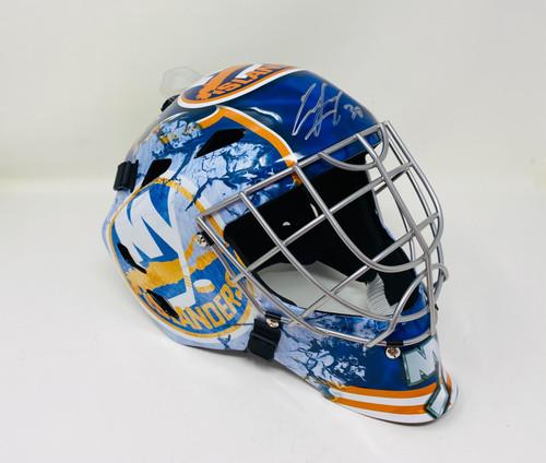 ILYA SOROKIN Autographed New York Islanders Full Size Goalie Mask FANATICS