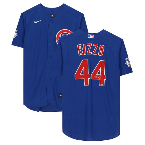 ANTHONY RIZZO Autographed Chicago Cubs Authentic Nike Blue Jersey FANATICS