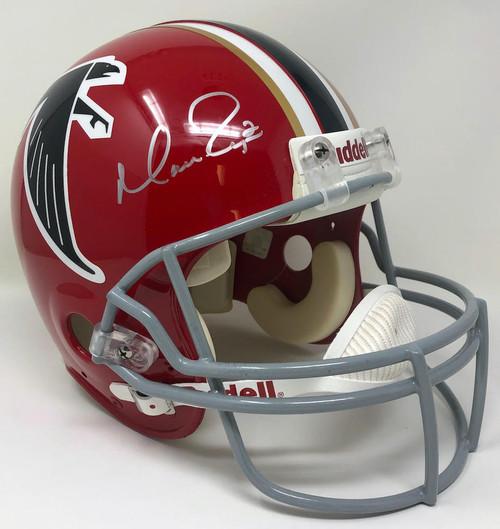 MATT RYAN Autographed Throwback Authentic Proline Atlanta Falcons Helmet FANATICS