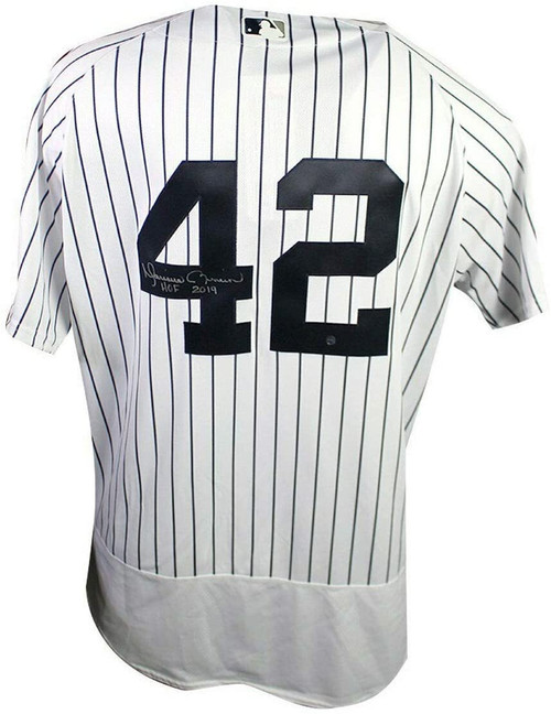 "MARIANO RIVERA Autographed ""HOF 2019"" New York Yankees Authentic Jersey STEINER"