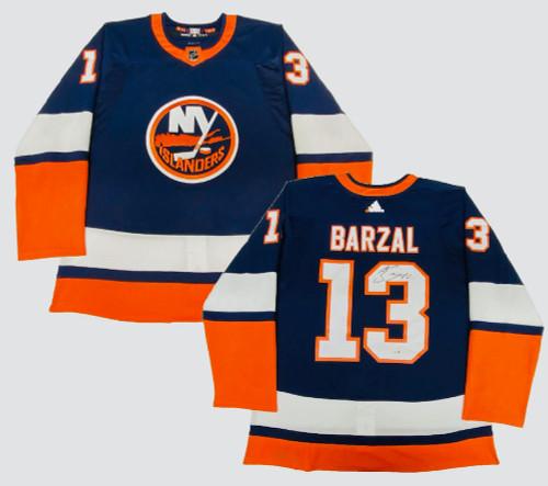 MATHEW BARZAL Autographed NY Islanders Authentic Reverse Retro Jersey FANATICS