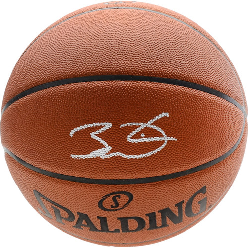 DWYANE WADE Autographed Miami Heat Authentic Spalding Basketball FANATICS