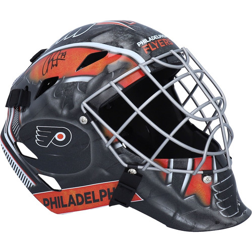 CARTER HART Autographed Philadelphia Flyers Full Size Goalie Mask FANATICS