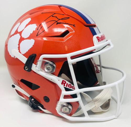 TREVOR LAWRENCE Autographed Clemson Tigers Speed Flex Helmet FANATICS