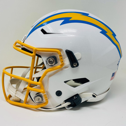Los Angeles Chargers NFL Riddell Authentic Full Size Speed Flex Helmet