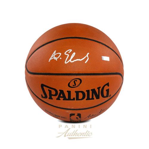 ANTHONY EDWARDS Autographed Timberwolves Authentic Basketball PANINI