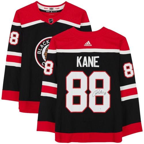 PATRICK KANE Autographed Blackhawks Reverse Retro Adidas Jersey FANATICS