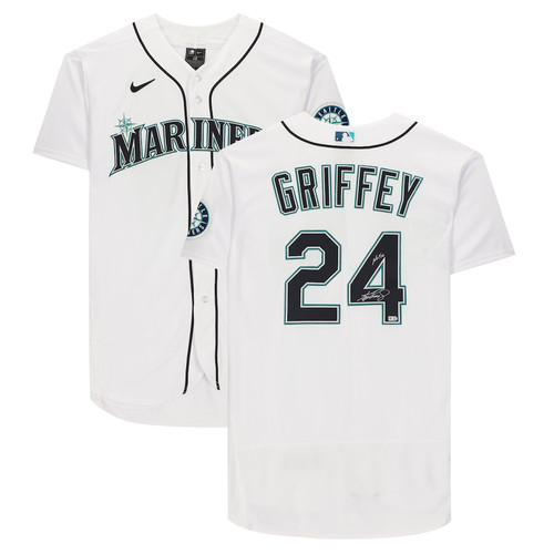 "KEN GRIFFEY Jr. Autographed ""HOF 16"" Seattle Mariners Authentic Jersey FANATICS"