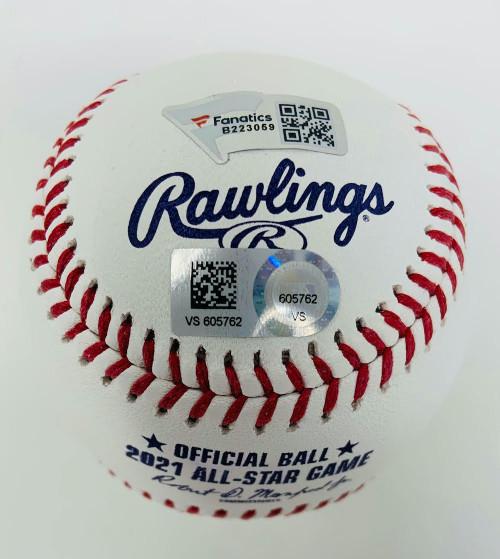 JACOB deGROM Autographed NY Mets 2021 All Star Official MLB Baseball FANATICS