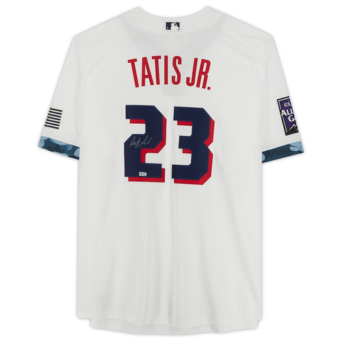 FERNANDO TATIS Jr. Autographed Padres 2021 All Star Jersey FANATICS