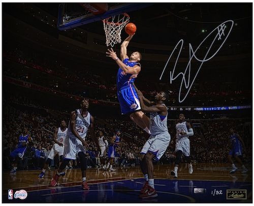 """BLAKE GRIFFIN Signed """"Poetry In Motion"""" 16x20 Photograph PANINI LE 32"""