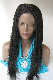 Full Lace Hand braided wig - Hope color #2 in 20""