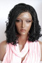 """Fully hand braided cornrow lace front wig Helena color #1 in 14"""""""