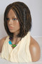 Fully hand braided lace front wig - Short Bob Micro Alice #2/27 in 6""