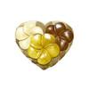 Plumeria Heart - Puzzle Box