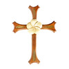 One Plumeria Cross