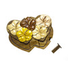 Hibiscus Double Heart - Puzzle Box