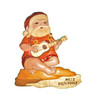 Ukulele Santa - Wall Decor