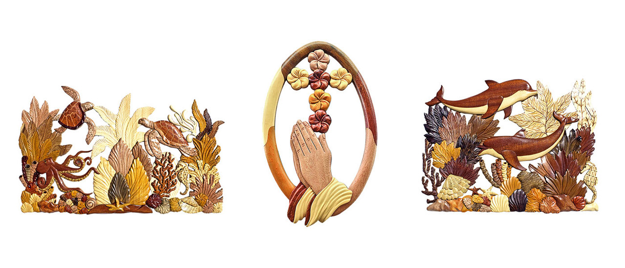Aloha Wood Art Handcrafted Wooden Wall Decor Products