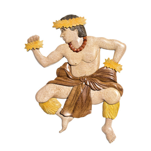 Male Hula Dancer