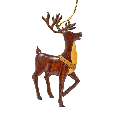 Santa's Reindeer Ornament