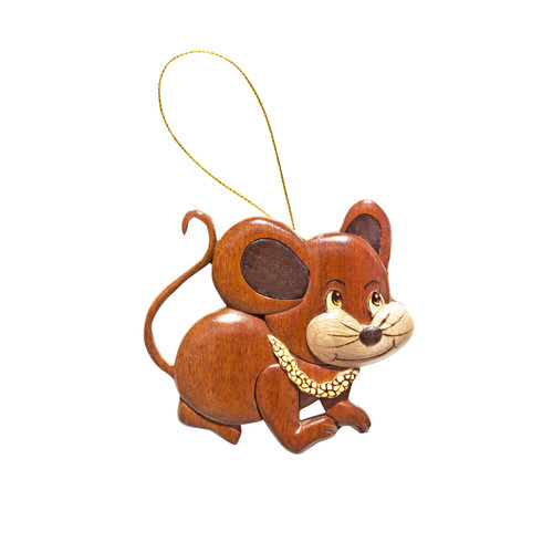 Aloha Mouse Ornament