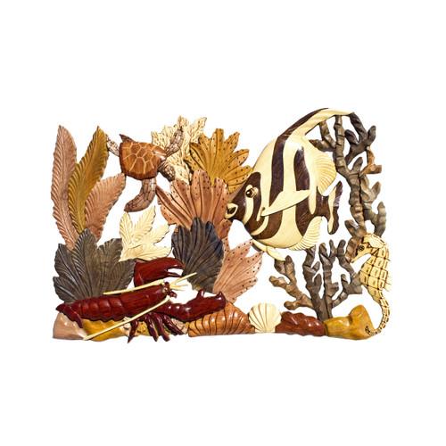 Deluxe Coral (Lobster, Honu, Moorish Idol)