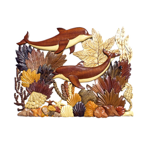 Deluxe Coral Dolphins