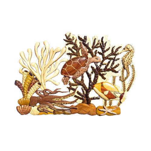 Deluxe Coral (Honu & Octopus)