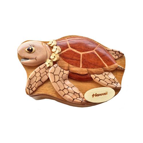 Aloha Turtle Puzzle Box