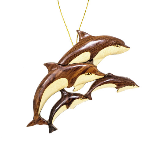 Dolphins Ornament