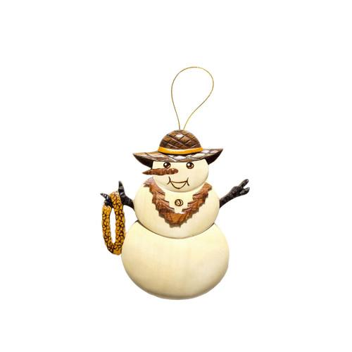 Hawaiian Snow Woman - Ornament