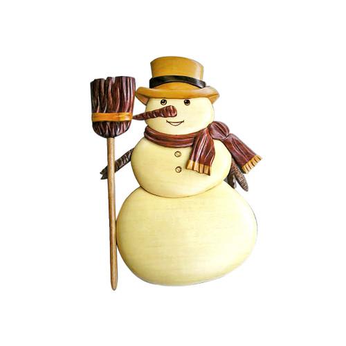 Traditional Snowman - Wall Decor