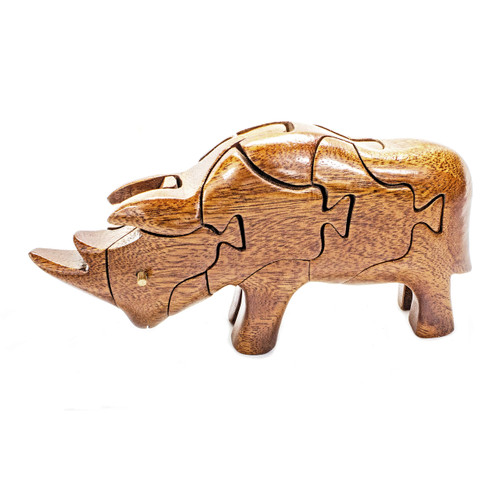 Rhinoceros - Puzzle Animal