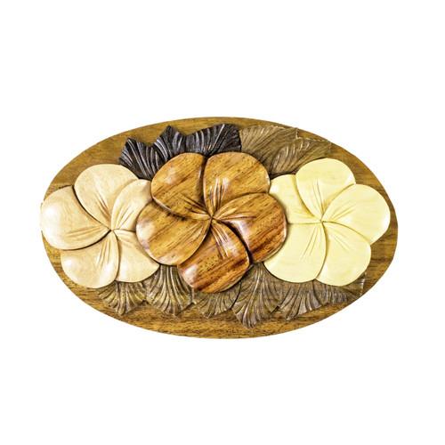 Plumerias (Oval) - Puzzle Box