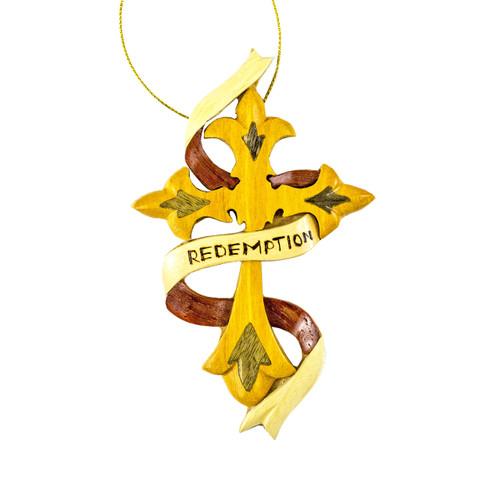 Redemption Cross - Ornament