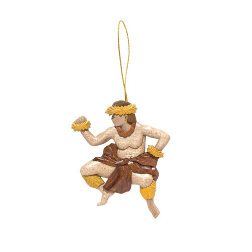 Male Hula Dancer - Ornament