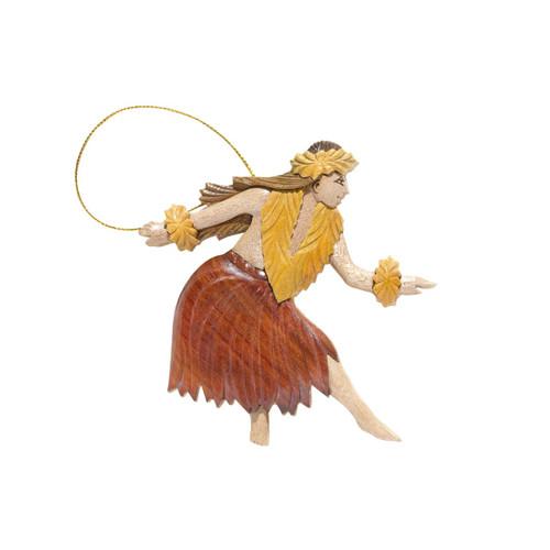 Female Hula Dancer - Ornament