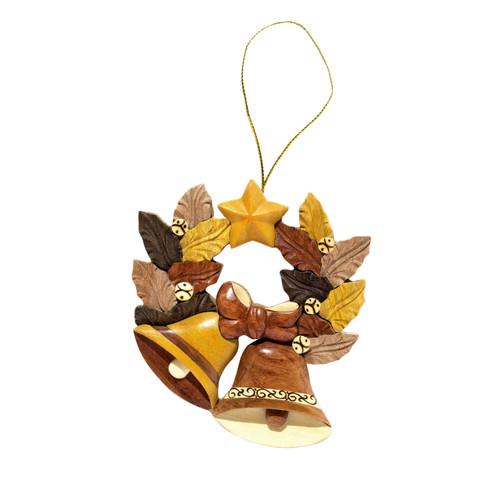 Jingle Bell Wreath - Ornament