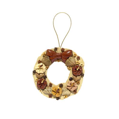 Hawaiian Flower Wreath - Ornament