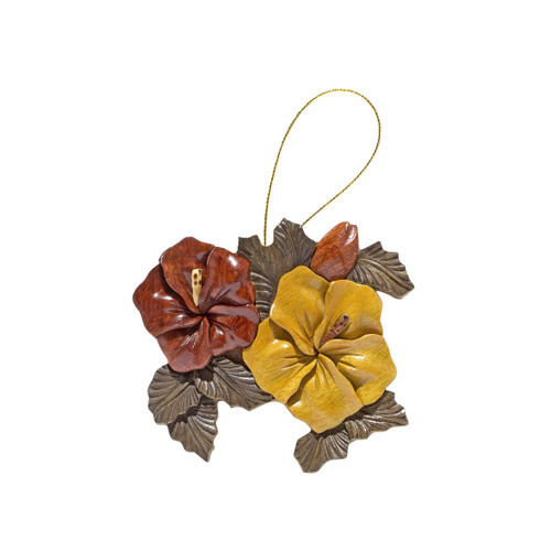 Two Hibiscuses - Ornament