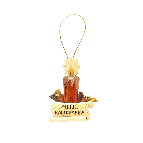 Christmas Candle - Ornament