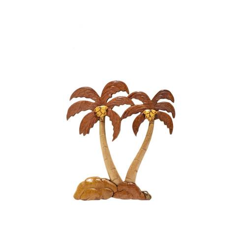 Palm Trees (Split) - Magnet