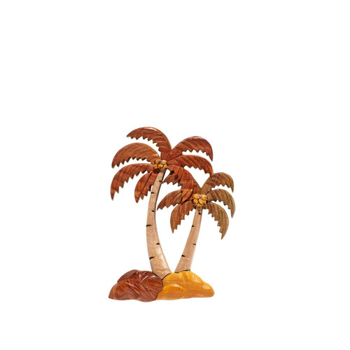 Palm Trees (Tall & Short) - Magnet